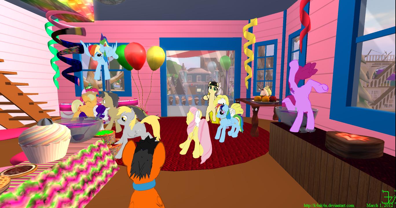 Derpy's Birthday 1 March 2012 by K4nK4n