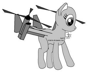 V-22 pony _ Whirly Whisk by K4nK4n