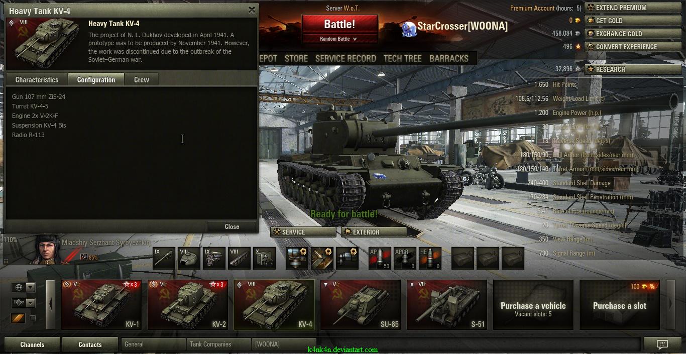 WoT _ fully upgraded KV_4 by K4nK4n on DeviantArt