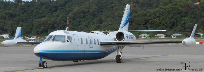 Plane 20140610 private jet _ 2 by K4nK4n
