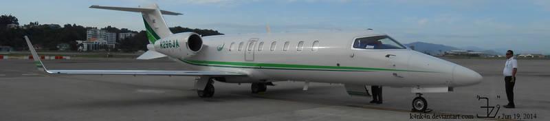 Plane 20140619 Lear Jet 45 _ 1 by K4nK4n
