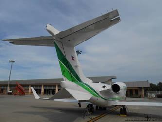 Plane 20140619 Lear Jet 45 _ 2 by K4nK4n