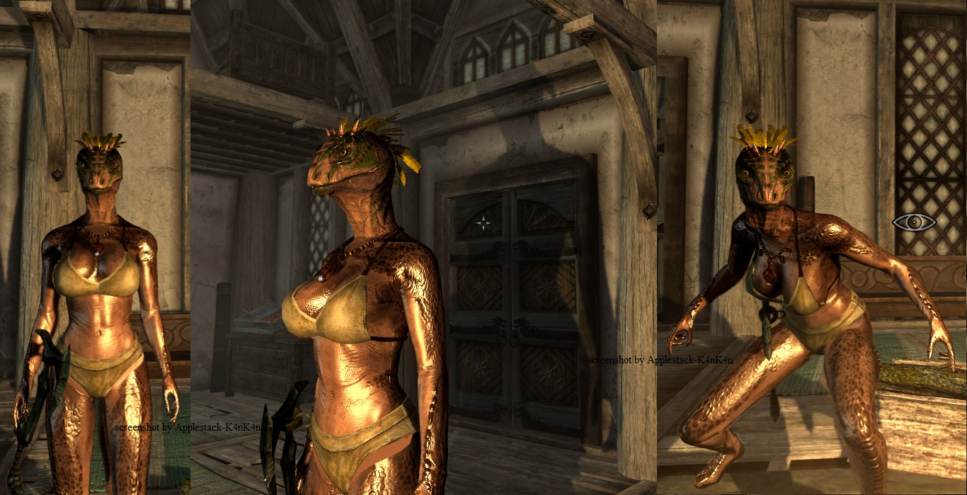 how to make a good looking female khajiit skyrim
