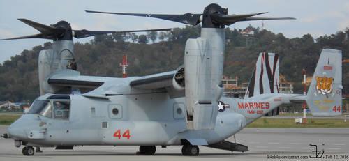 Plane 20160212 _ V-22 Osprey by K4nK4n