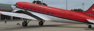 Douglas DC-3 by K4nK4n