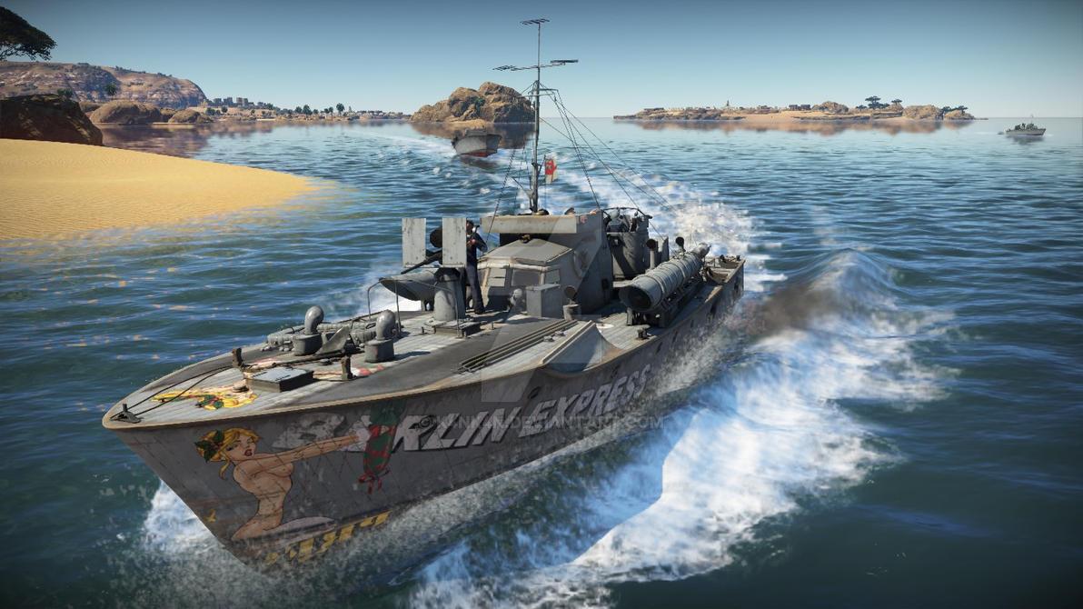 war thunder boat