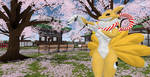 Kyubimon at a Japanese temple (3) by K4nK4n
