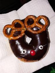 Reindeer donut _ 20201125 by K4nK4n
