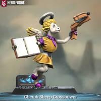 Cherub Sheep Crossbower made using Hero Forge by K4nK4n