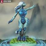 Sisu anthrofied using Hero Forge by K4nK4n