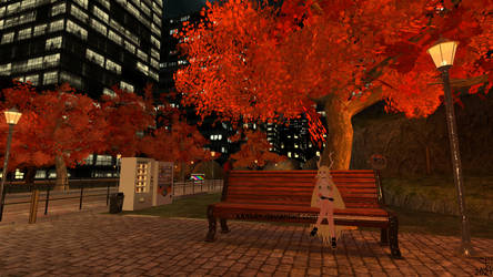 SCP-166 in the park during autumn by K4nK4n