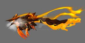 Weird dragon lava bug creature...thing