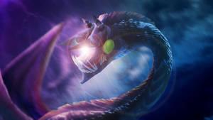 Tiny Electric dragon uwu