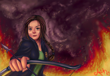 The Hunger Games: Katniss Everdeen by AznAshie