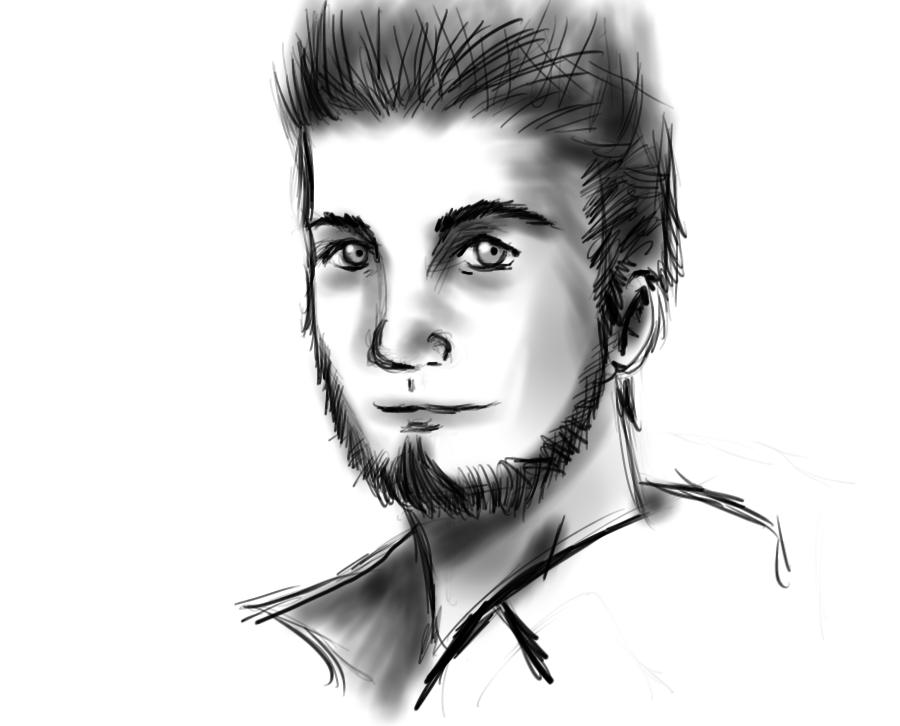 Aydren sketch by XxPointlessThingsxX