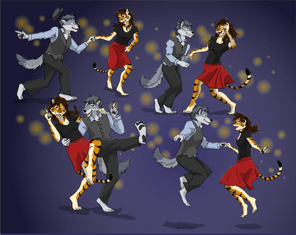 Shall We Dance: The Lindy Hop 02 by RuntyTiger