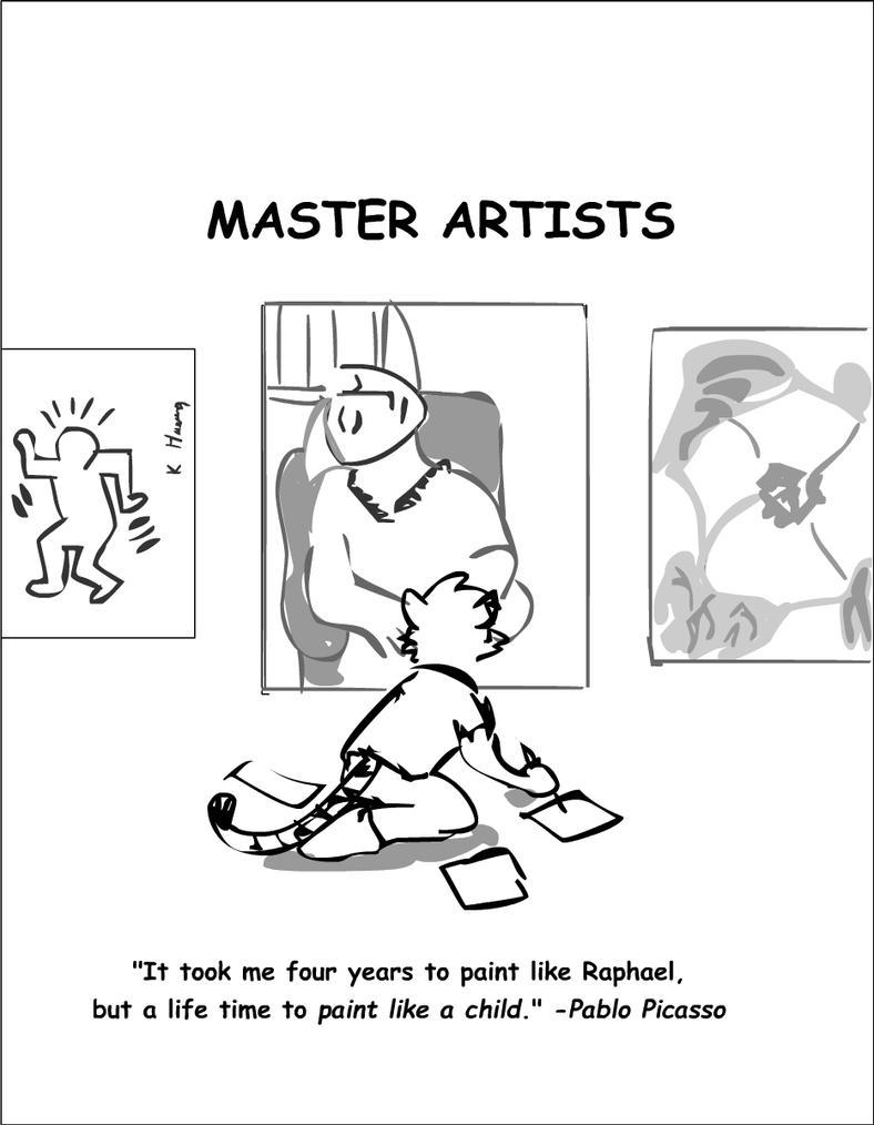 Master Artist by RuntyTiger