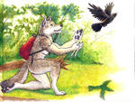 Brother Wolf and Brother Crow: Goodbye