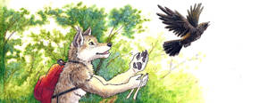 Brother Wolf and Brother Crow: cropped