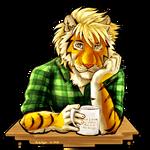 Coffee Time Tiger 02