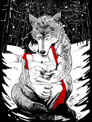 Red and the Wolf: Embrace