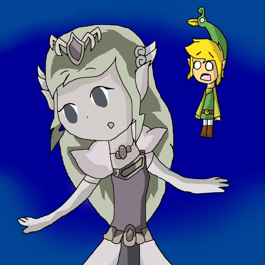 WTF? She Is A Stone By ToonZelinkFanForever On DeviantArt