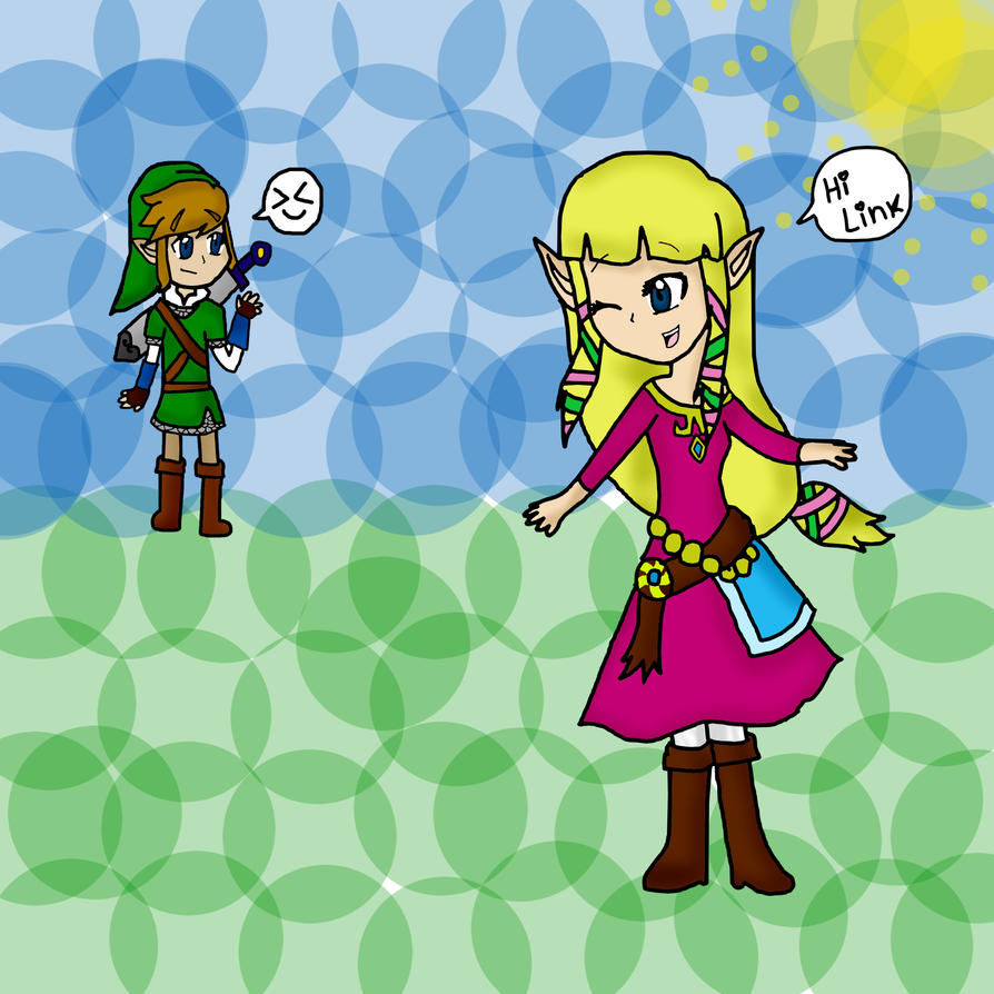 Zelink Hii- Skyward sword by ToonZelinkFanForever on ... Zelink Skyward Sword