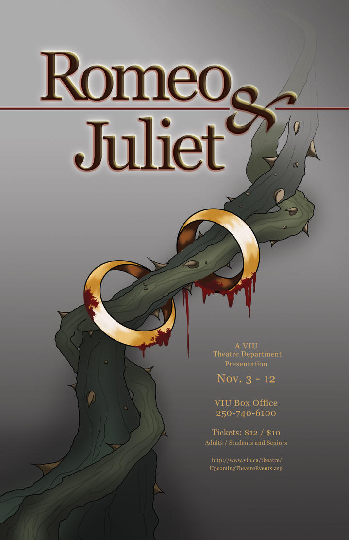 Romeo and Juliet Poster 2 by Kotamu on DeviantArt