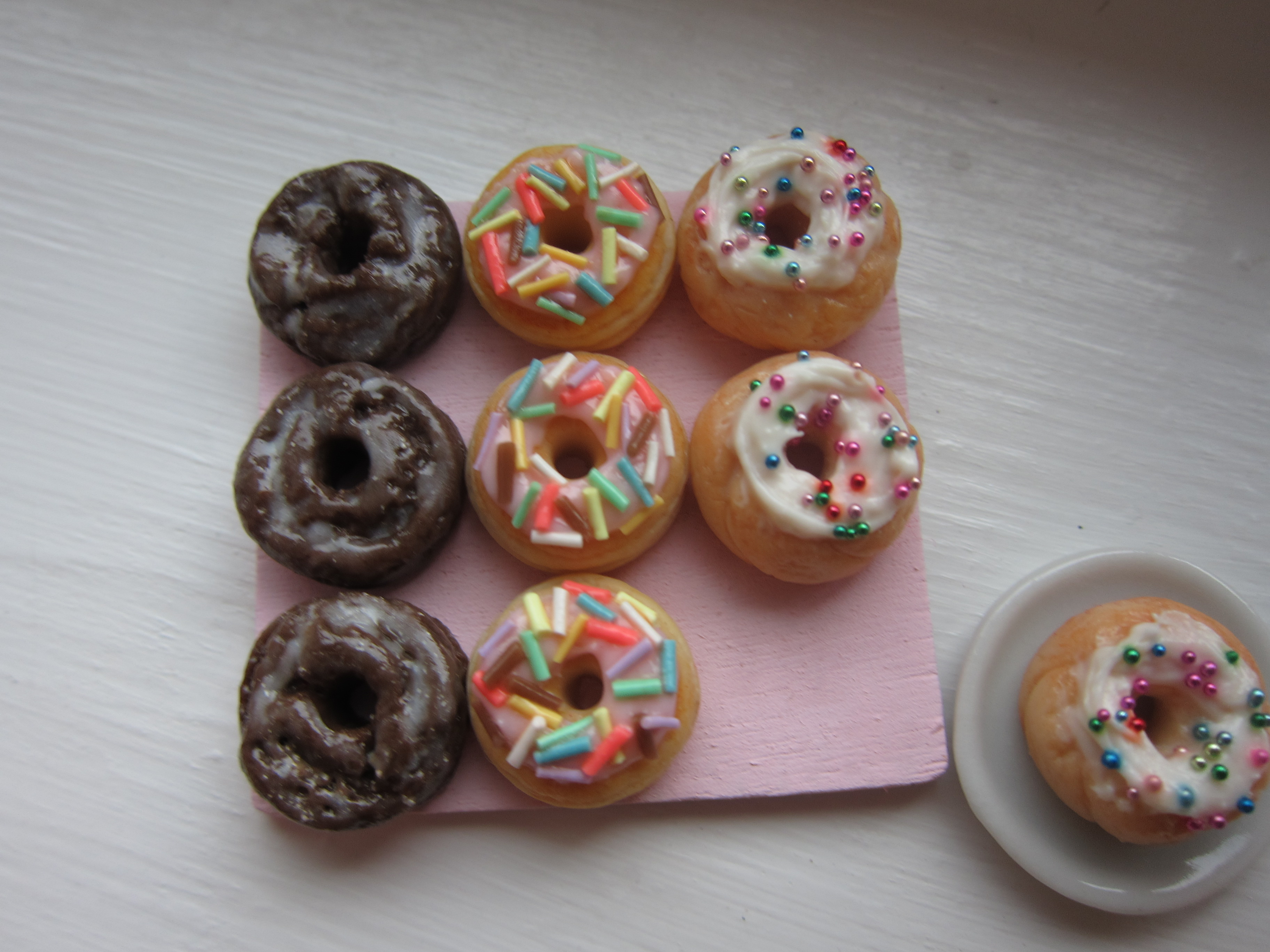 1:12 Scale Donuts by LittleSweetDreams