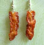 Bacon Earrings