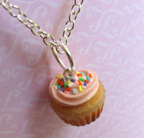 Strawberry Cupcake Charm by LittleSweetDreams