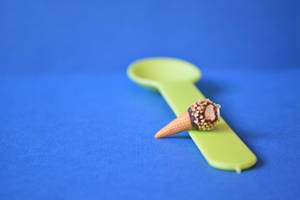 Drumstick Charm by LittleSweetDreams