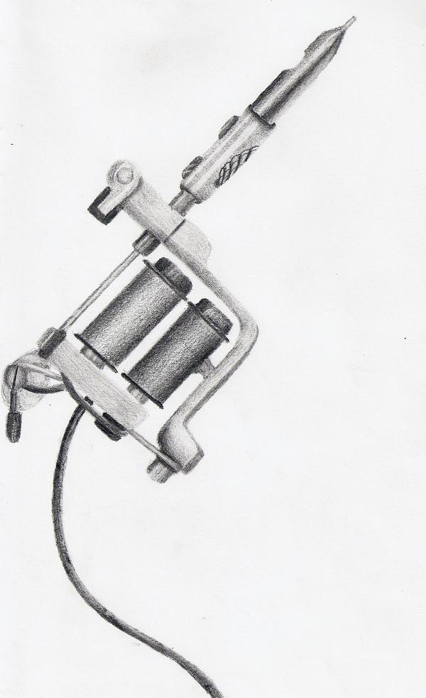 Shell: Tattoo Gun by Kaly89 on DeviantArt