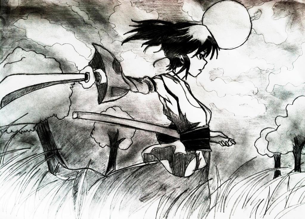 Samurai Girl by MissAikoHitsugaya1
