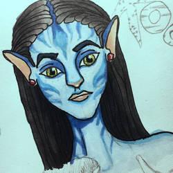 Avatar doodle