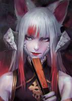 Kitsune - JeikoHunter by ADPong