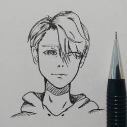 [YOI] Viktor - Sketch by ItsArtemisa