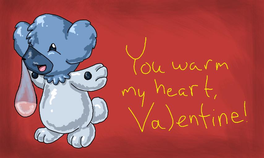 Cubchoo Valentine by CheruCheriPie