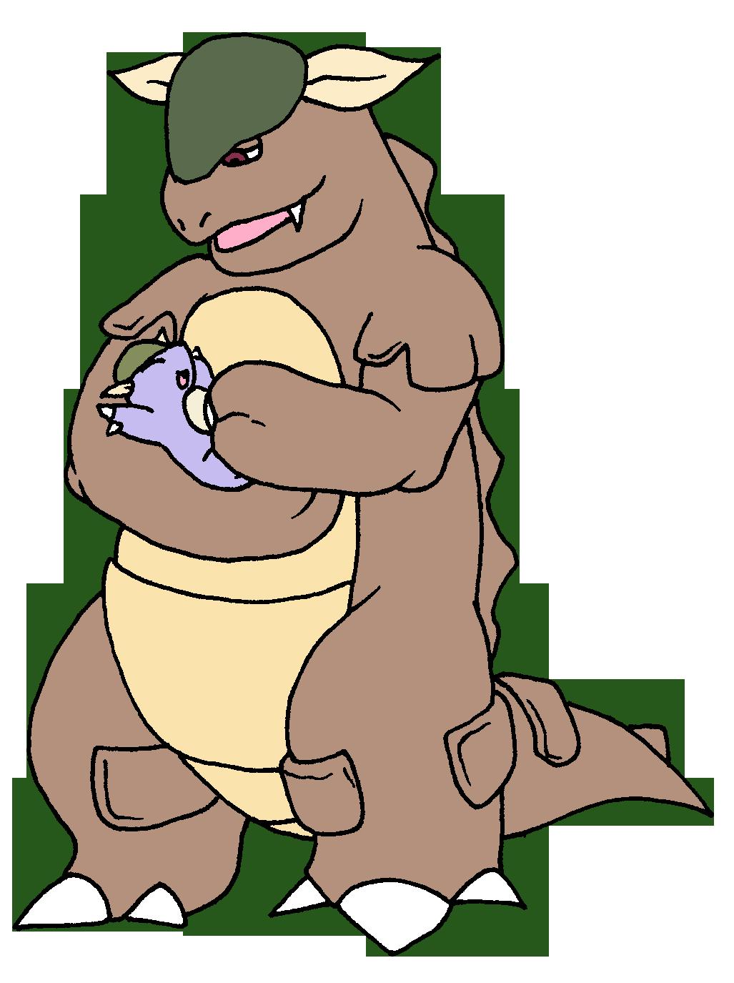 Pokemon Kangaskhan