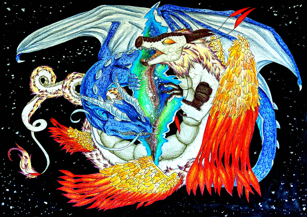 Dragon Lovers- Creation of the Universe