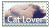 Cat lover {Stamp} by OoViolinaoO