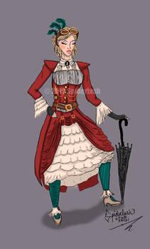 Steampunk Costume Design