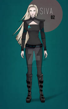 Project Hellion: Siva Character Ref