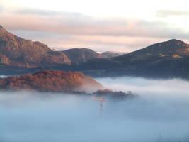 Misty Mountain by CatStock