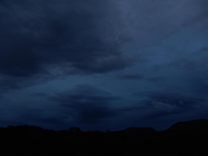 dark blue sky with - photo #11