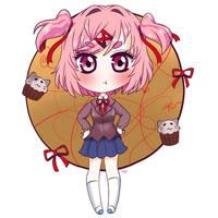Natsuki DDLC by Colorfullcomics