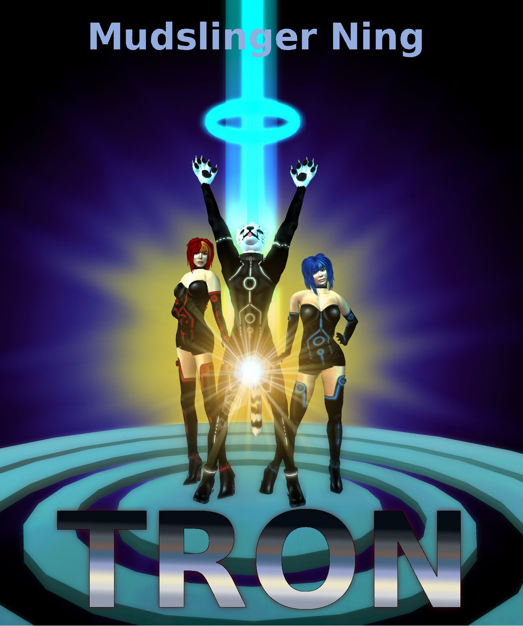 Parody SL Movie Poster: Tron