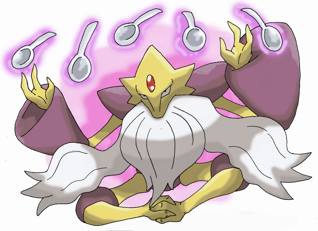 Mega Alakazam by DragoonForce2 on DeviantArt