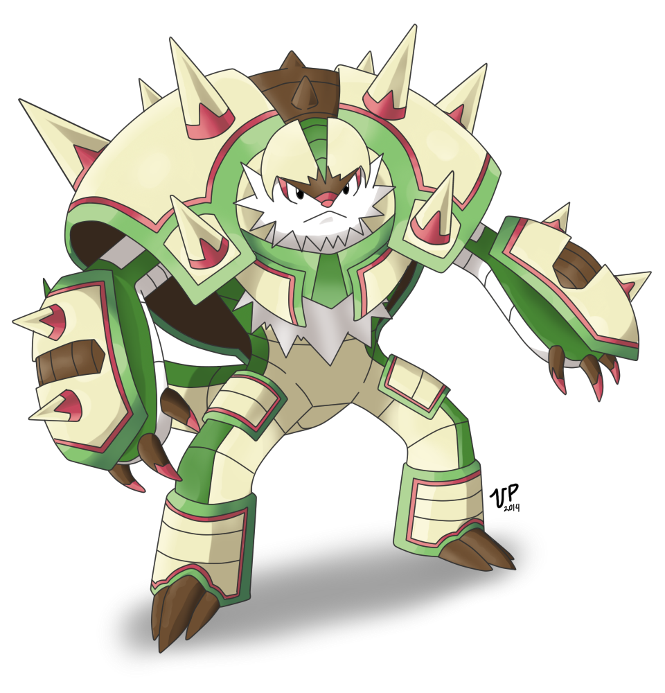 Mega Chesnaught by DragoonForce2