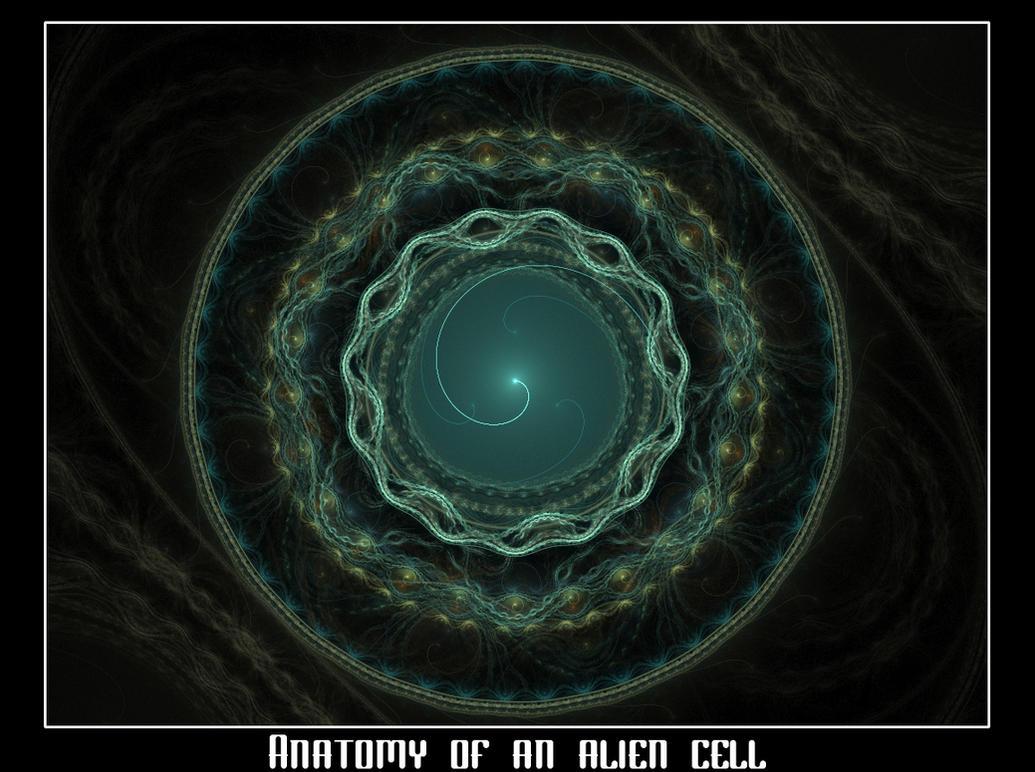 Anatomy Of An Alien Cell By Travmanx On Deviantart